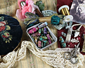 Online bead class Bohemian Beads, please read description