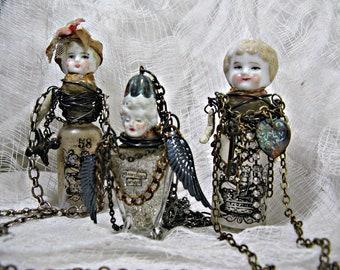 Online class Altered Art Bottle Necklaces, PLEASE read description, diy, online jewelry workshop, course