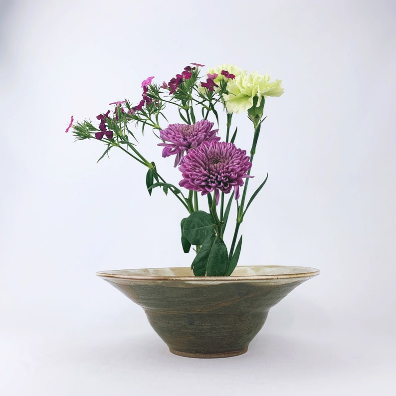 Unique Ikebana Vase // Flower Arrangements image 0
