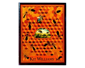 Kit Williams vintage Bee BOOK - wheel of the year Ostara Beltane spring soltice witch Masquerade witchy UK