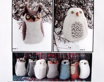 Owl pdf Pattern Tutorial Night Friend