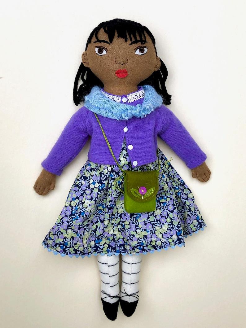 Little Girl doll wool image 0