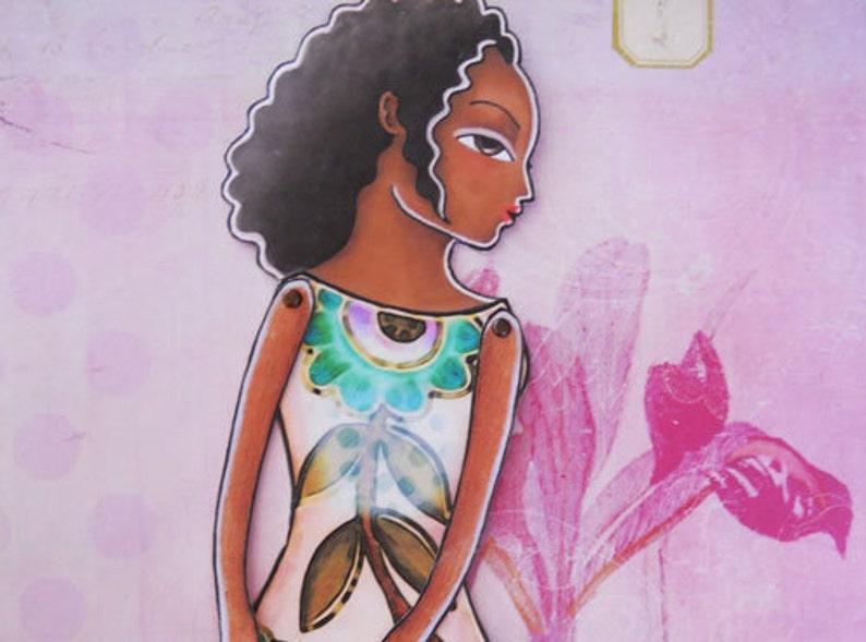 Printable Paper-doll Lia