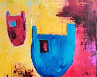 Leftover Remix - 02 - Acrylic Painting