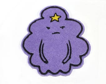 Lumpy Space Princess LSP Adventure Time embroidered iron on patch