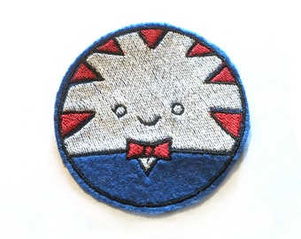 Peppermint Butler Adventure Time embroidered iron on patch
