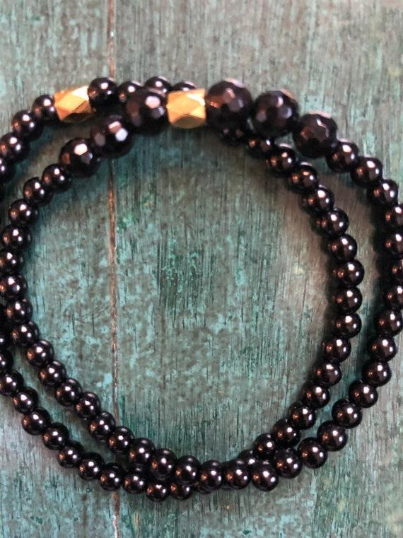Black Tourmaline Mini Bracelet