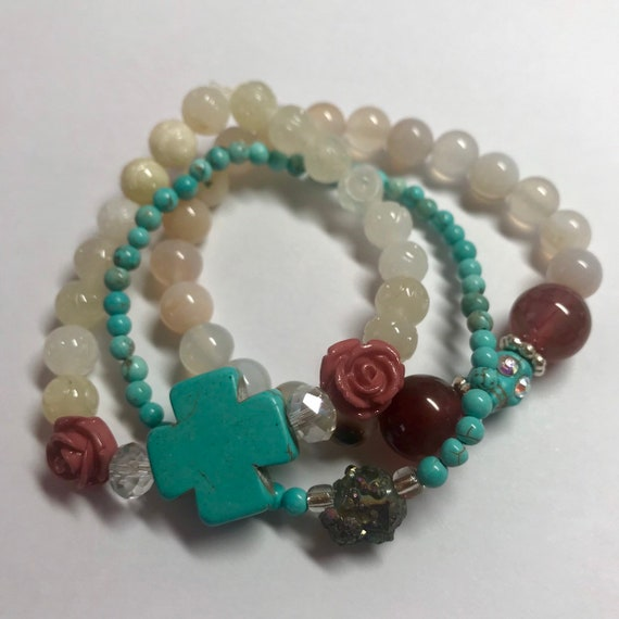 Turquoise Heirloom Inspiration Stack