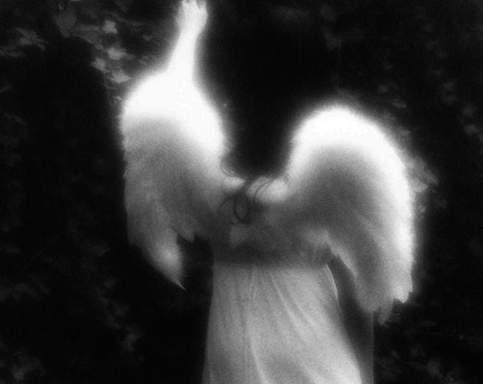 Black and White Angel Fine Art Photograph