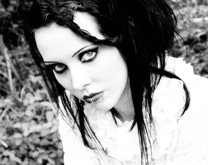 Black and White Gothic Art Photograph