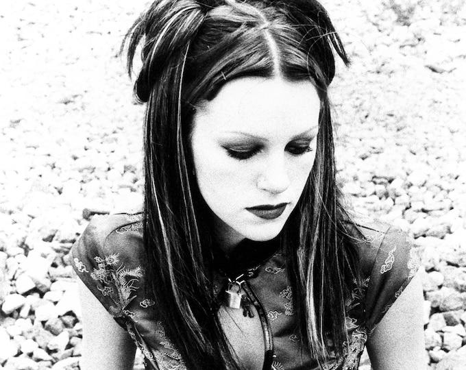 Black and White Gothic Girl Fine Art Photograph