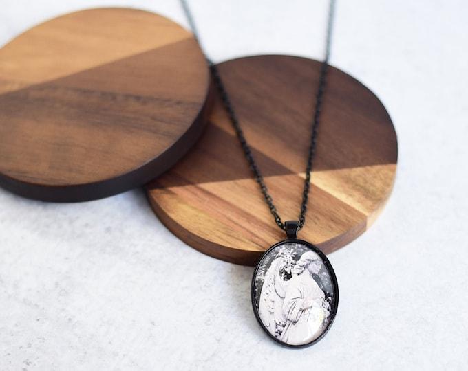 Angel Pendant Necklace