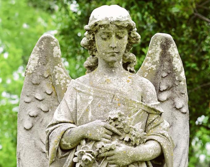 Cemetery Angel Fine Art Print