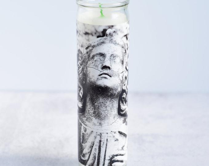 Gothic Angel Prayer Candle