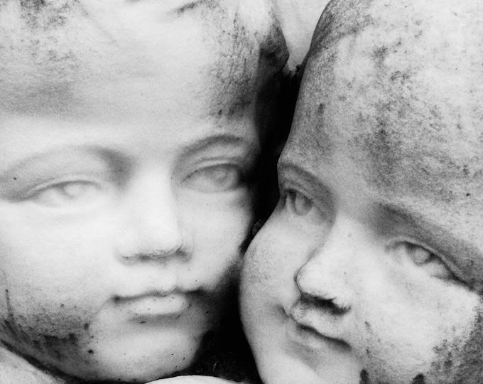 Cemetery Angels Photographic Print