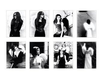 Gothic Angel Photo Postcards