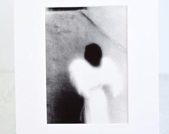 Black and White Angel Fine Art Print
