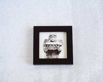 Cemetery Angel Framed Art Print