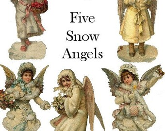 Vintage Bilder Weihnachten.Digital Collage Sheets Vintage Images Printables Von Lunagirl