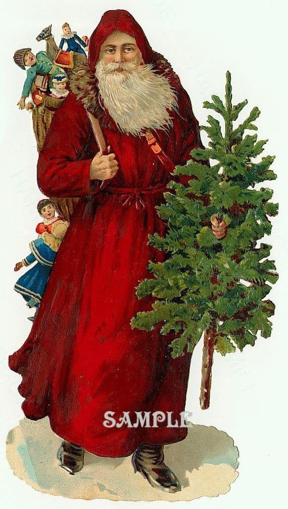 Immagini Vintage Natale.1000 Vintage Natale Immagini Di Capodanno Digital Ephemera Etsy