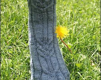 AIM TRUE Sock Pattern - PDF Format