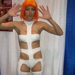 LeeLoo Dallas Bandage Costume