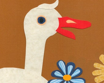 Cuthbert the Goose - 1 Printed Card