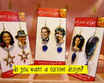 Custom Order Earring Listing from My Aunt Debbie bespoke earrings