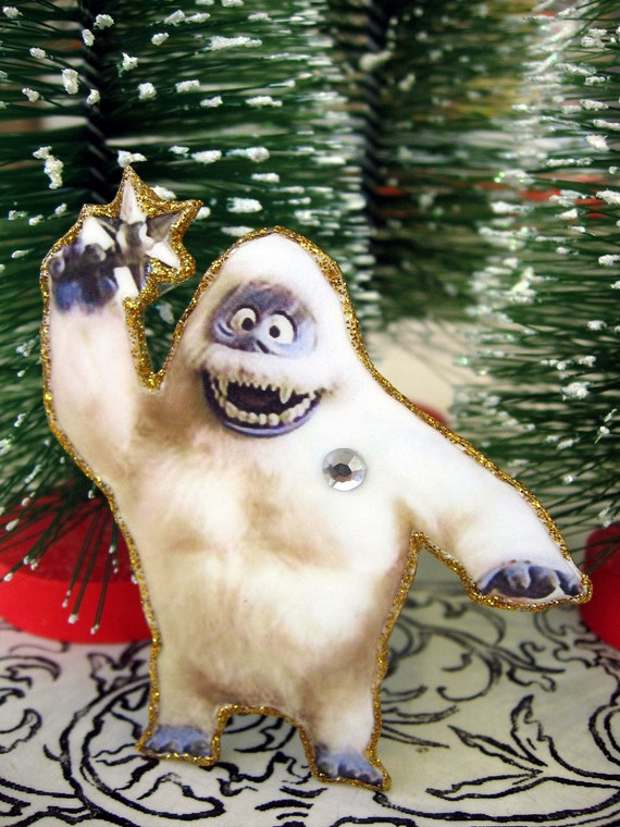 image 0 - Abominable Snowman Rudolph Christmas Decoration