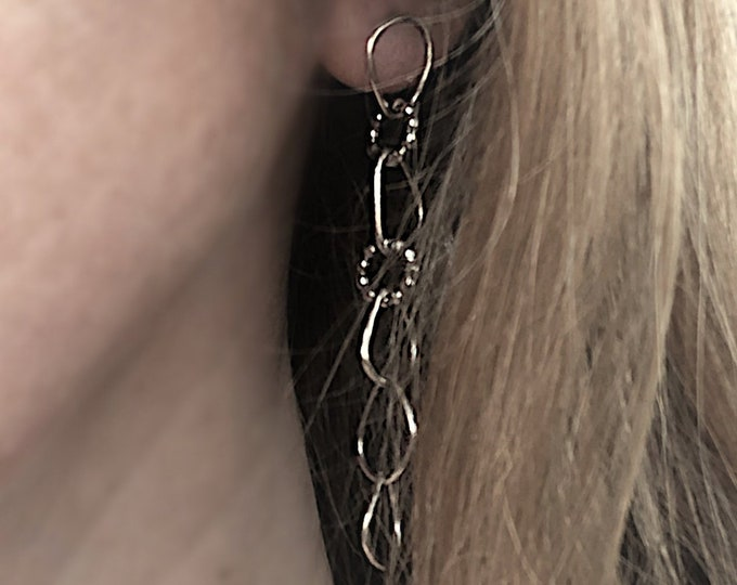 Handcrafted Sterling Silver Earrings