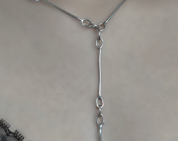 Handcrafted Sterling Silver Chain Link Necklace