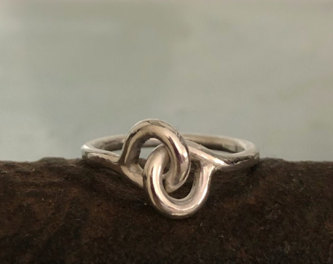 Handcrafted Sterling Silver Unity/ Friendship Statement Ring, All Sizes