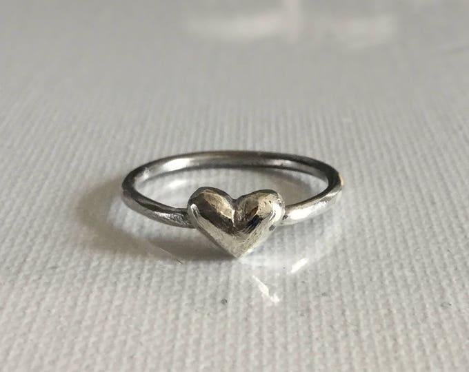 Miniature Heart Ring