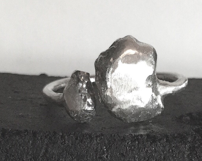 One of a Kind Open Sterling Silver Ring