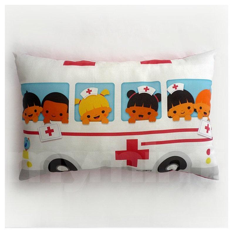 Travel Pillow Ambulance Pillow Lumbar Pillow Car Pillow image 0