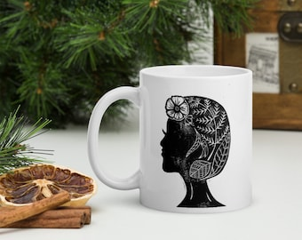 In The Weeds Block Print Mug