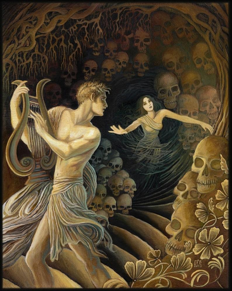 Orpheus and Eurydice Greek Myt...