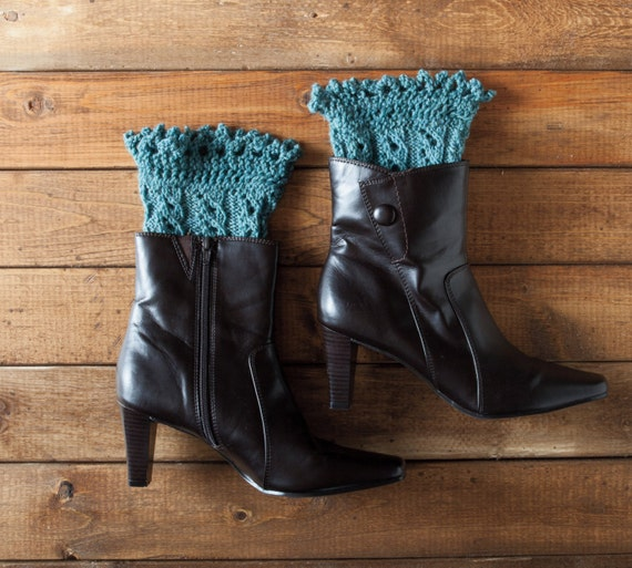 Pikabu Knit Boot Toppers Pattern Pdf Quick Knit Gift Etsy