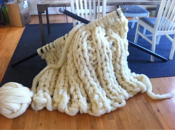Giganto Blanket Pattern Custom Made Huge Chunky Giant Etsy