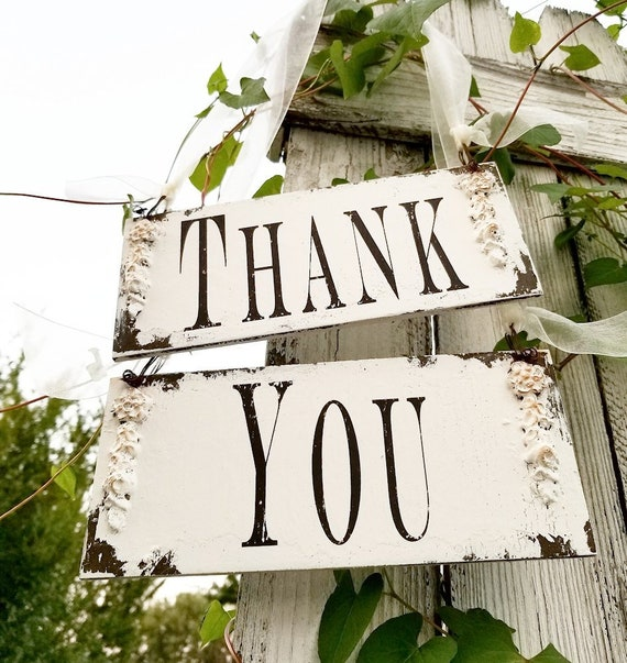 Thank You Signs Wedding Signs Reception Decor Photo