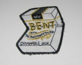 Items similar to sew on patch 1970s vintage patch bent kent