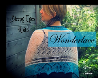 HOLIDAY SPECIAL! 2 for 1 + FREESHIPPING/Wonderlace Book - Sleepy Eyes Knits
