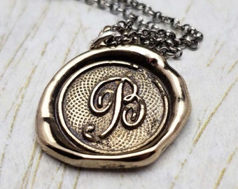 Let us live united-Two Swallows wax seal fine silver charm sterling silver necklace