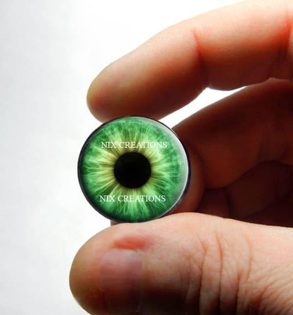 Human Green 10mm Taxidermy Glass Dragon Teddy Eyes Doll 16mm 14mm