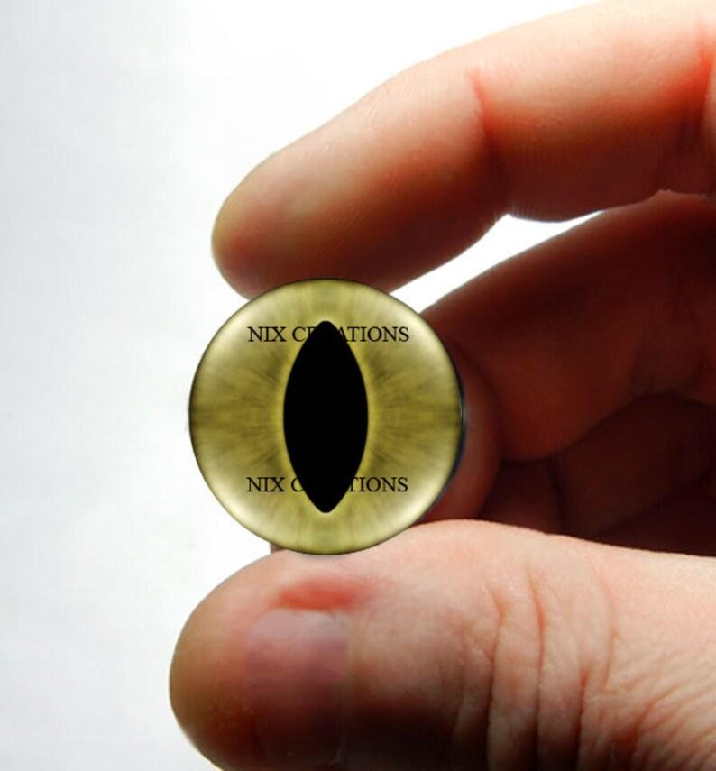 Tan Cat Glass Eyes Taxidermy Needlefelt Eye Cabochons 8mm 10mm 12mm 13mm 14mm 16mm 18mm 20mm 25mm 30mm Glass Eyes