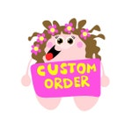 Custom card RESERVED for SOPHIE