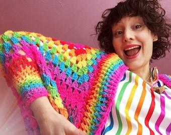 Kittypinkstars wrap me in a rainbow hug shrug