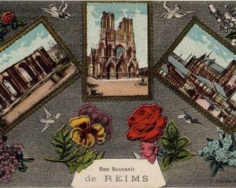 TANGER et ses Environs MOROCCO Reims Vintage Postcard c1910 J Bienaime Arabian HORSES
