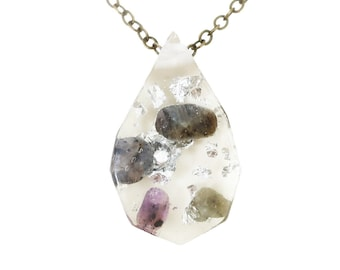 Resin Stone Necklace