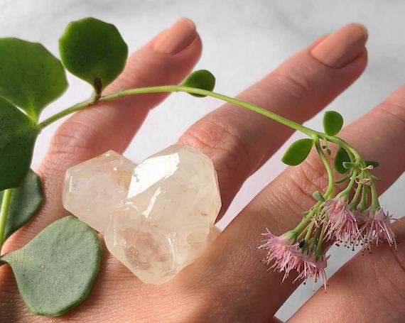 Faux Quartz Eco-Resin Ring